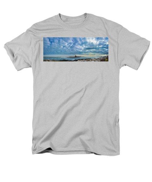 Ram Island Light Men's T-Shirt  (Regular Fit) by Alana Ranney