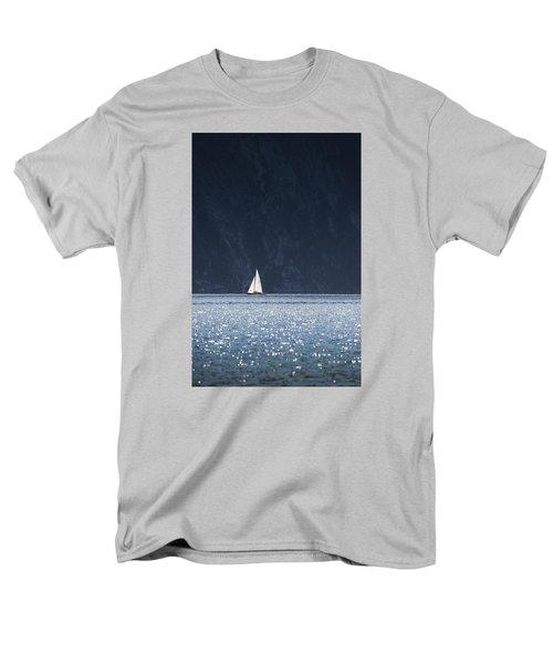 Men's T-Shirt  (Regular Fit) featuring the photograph Sailboat by Chevy Fleet