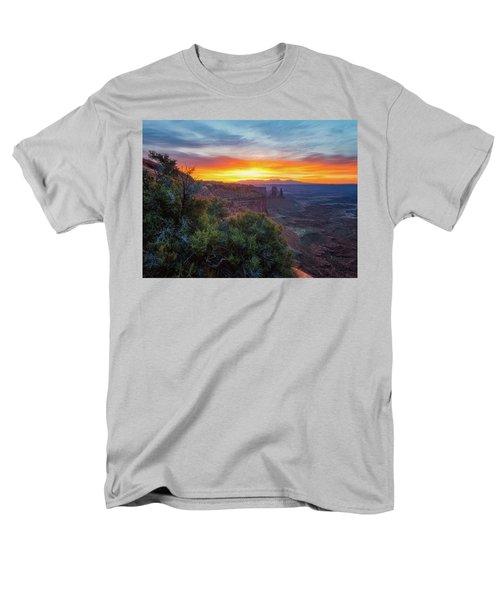 Sunrise Over Canyonlands Men's T-Shirt  (Regular Fit) by Darren White