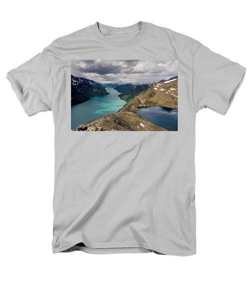 View From Bessegen Ridge Men's T-Shirt  (Regular Fit) by Aivar Mikko