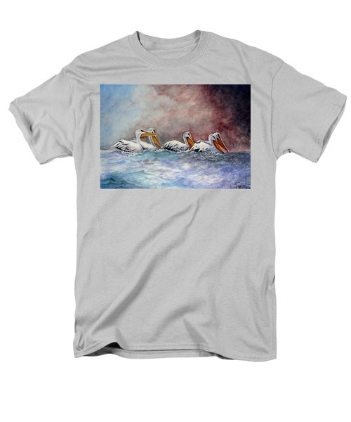 Waiting Out The Storm Men's T-Shirt  (Regular Fit) by Jimmy Smith