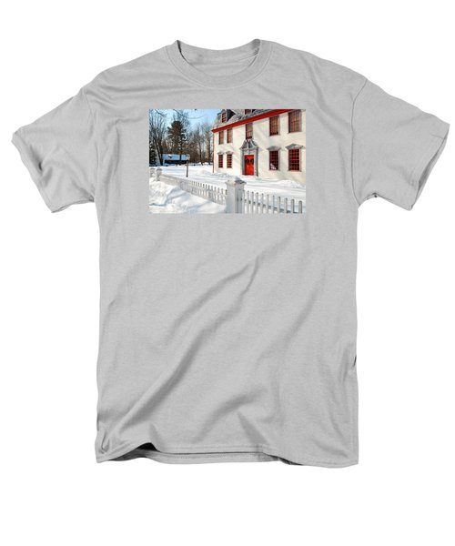 Winter In The Country Men's T-Shirt  (Regular Fit) by James Kirkikis