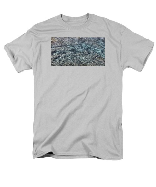 Men's T-Shirt  (Regular Fit) featuring the pyrography Yury Bashkin Sea by Yury Bashkin