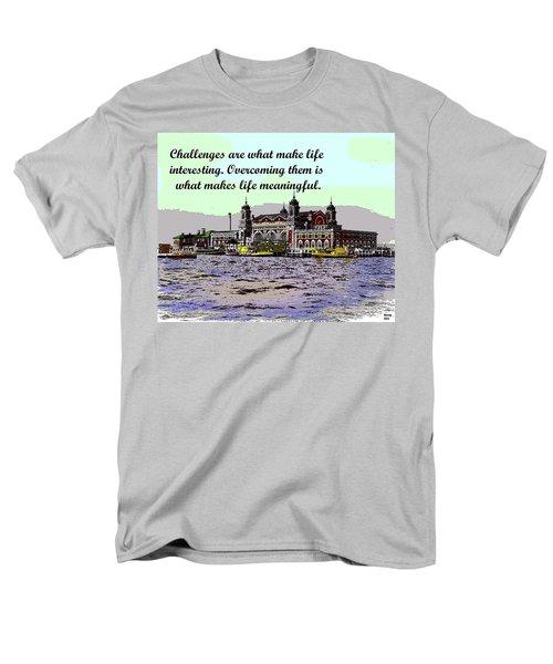 Motivational Quotes Men's T-Shirt  (Regular Fit)