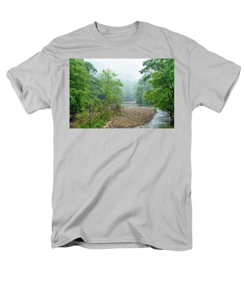 Men's T-Shirt  (Regular Fit) featuring the photograph Williams River Summer Mist by Thomas R Fletcher
