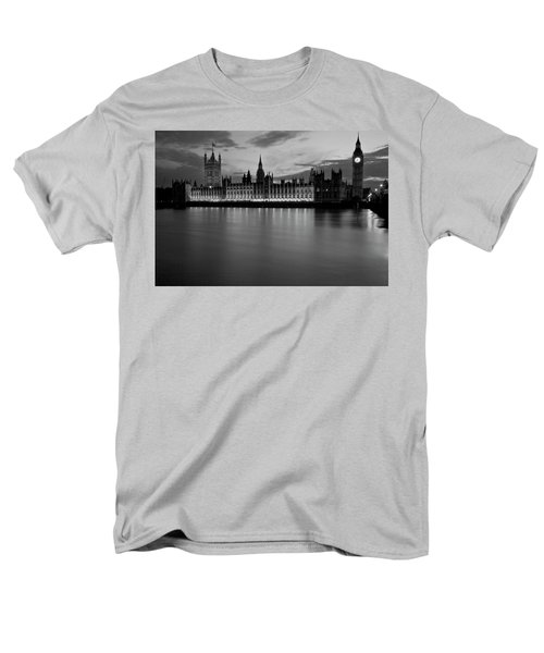 Big Ben And The Houses Of Parliament Men's T-Shirt  (Regular Fit) by David French