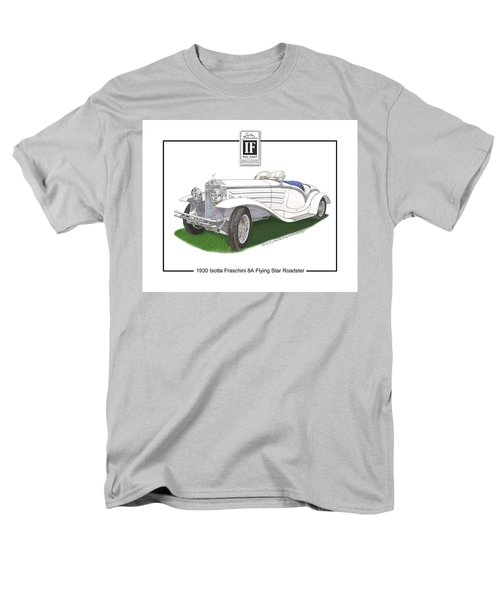 1930 Isotta Fraschini 8a Flying Star Roadster Men's T-Shirt  (Regular Fit) by Jack Pumphrey