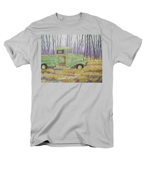 Men's T-Shirt  (Regular Fit) featuring the painting 1932  Greenford Pickup Truck by Belinda Lawson