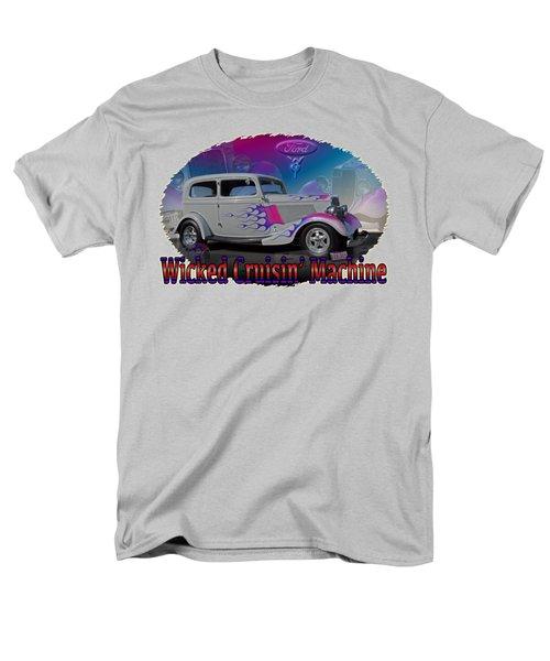 Men's T-Shirt  (Regular Fit) featuring the digital art 1934 Ford Delux by Richard Farrington