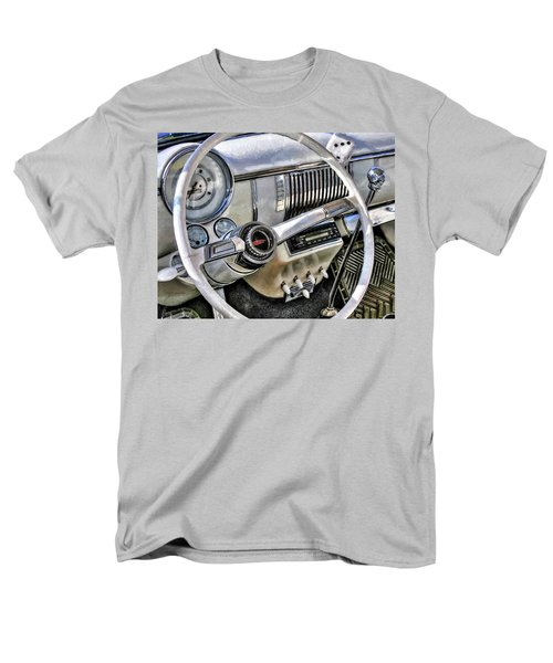 1950 White Chevy Coupe Men's T-Shirt  (Regular Fit) by Trey Foerster