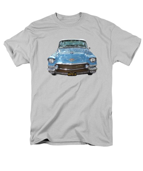 Men's T-Shirt  (Regular Fit) featuring the photograph 1956 Cadillac Cutout by Linda Phelps