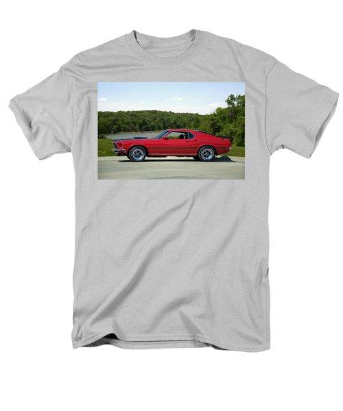 1969 Mustang Mach 1 Men's T-Shirt  (Regular Fit) by Tim McCullough