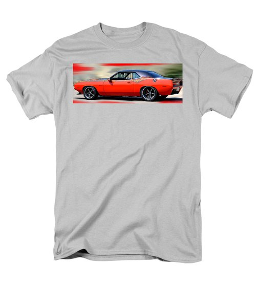 1970 Dodge Challenger Srt Men's T-Shirt  (Regular Fit) by Maria Urso