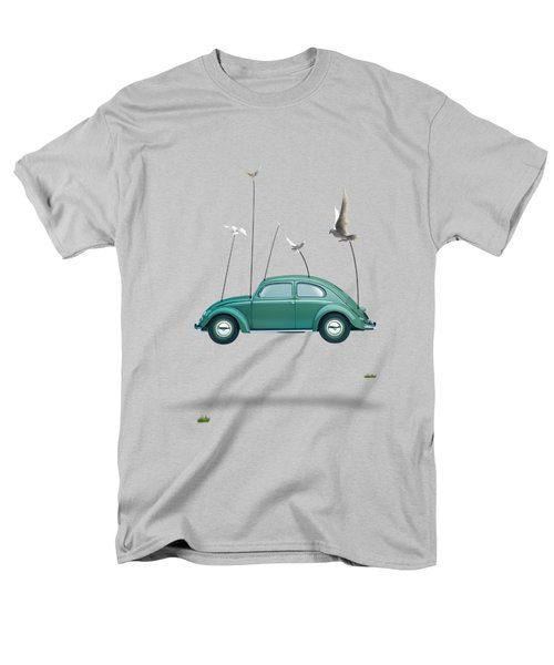 Cars  Men's T-Shirt  (Regular Fit) by Mark Ashkenazi