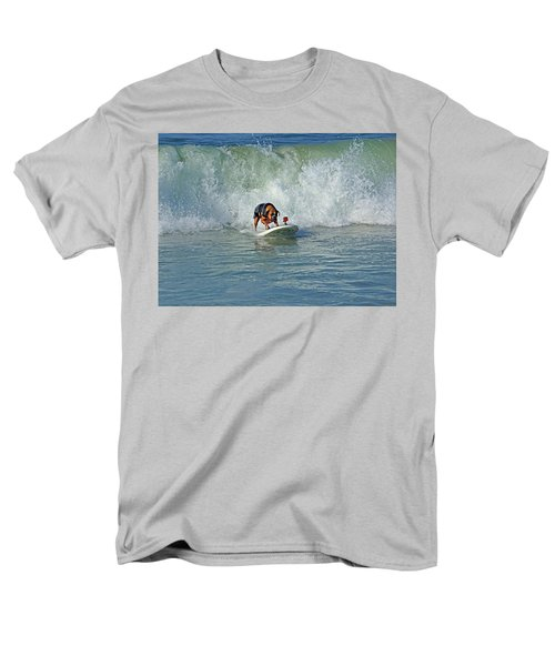Surfing Dog Men's T-Shirt  (Regular Fit) by Thanh Thuy Nguyen