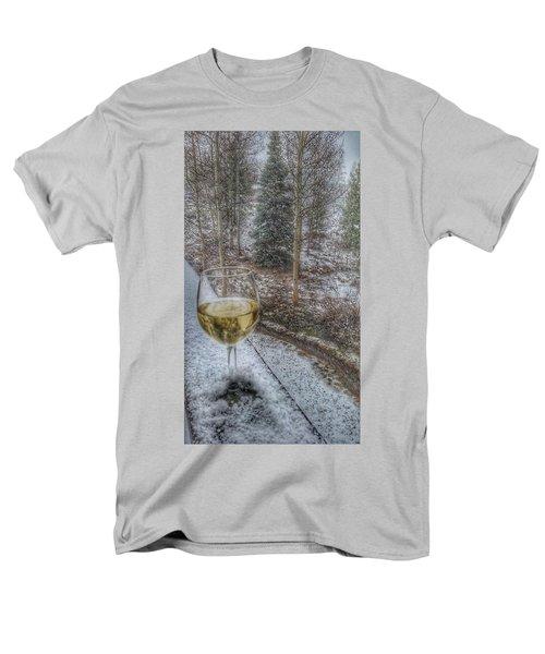 Mountain Living Men's T-Shirt  (Regular Fit) by Fiona Kennard