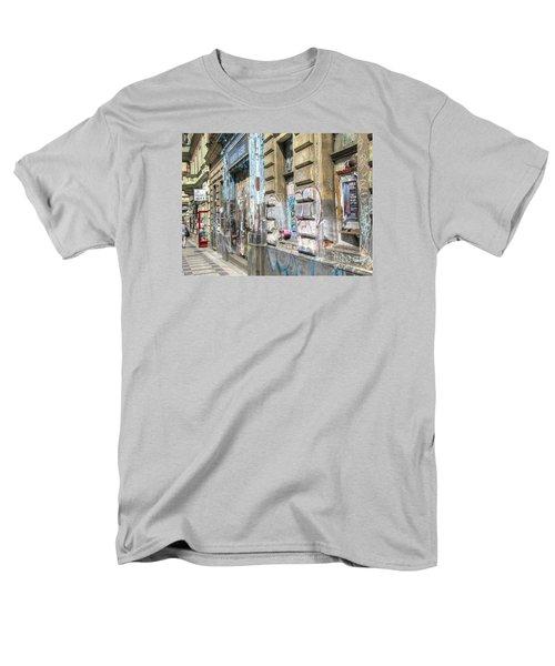 Praha Street Men's T-Shirt  (Regular Fit) by Yury Bashkin