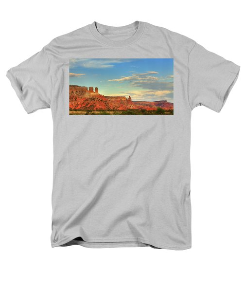 Sunset At Ghost Ranch Men's T-Shirt  (Regular Fit) by Alan Vance Ley