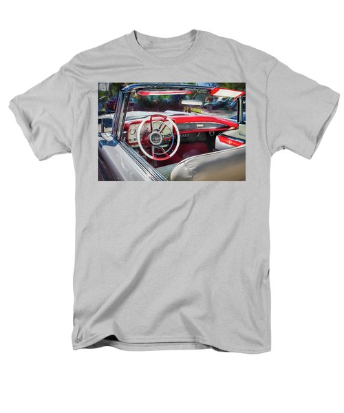 1959 Lincoln Continental Town Car Mk Iv Painted  Men's T-Shirt  (Regular Fit) by Rich Franco