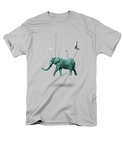 Elephant Men's T-Shirt  (Regular Fit) by Mark Ashkenazi