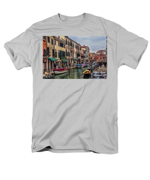 Men's T-Shirt  (Regular Fit) featuring the photograph Venice by Shirley Mangini