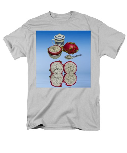 Men's T-Shirt  (Regular Fit) featuring the photograph Pink Dragon Fruit  by David French