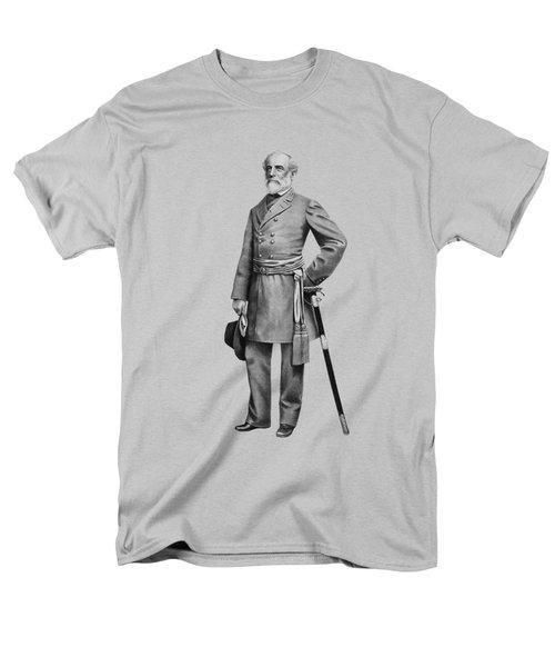 General Robert E Lee Men's T-Shirt  (Regular Fit) by War Is Hell Store