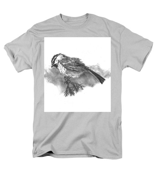 A Chickadee Named Didi Men's T-Shirt  (Regular Fit) by Dawn Senior-Trask