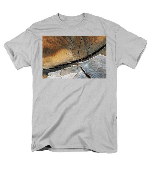 Men's T-Shirt  (Regular Fit) featuring the photograph A Dead Tree by Dorin Adrian Berbier