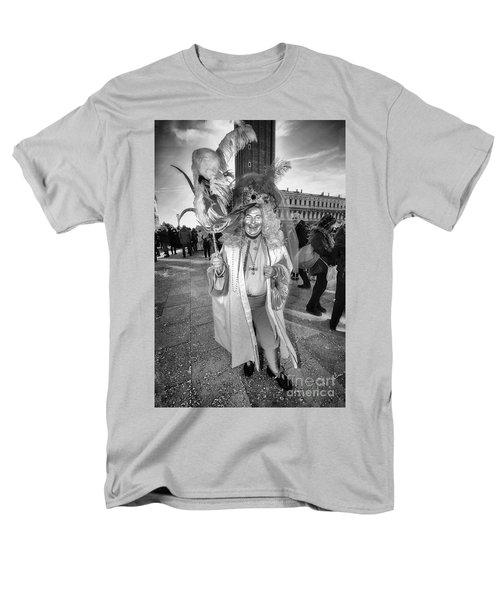 A Feathered Casanova  Men's T-Shirt  (Regular Fit) by Jack Torcello