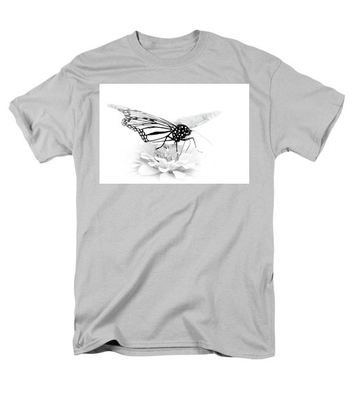 A Light Touch - Butterfly Men's T-Shirt  (Regular Fit) by Nikolyn McDonald