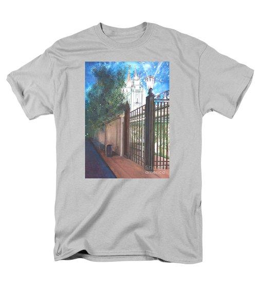 A Light Unto The World Men's T-Shirt  (Regular Fit) by Jane Autry