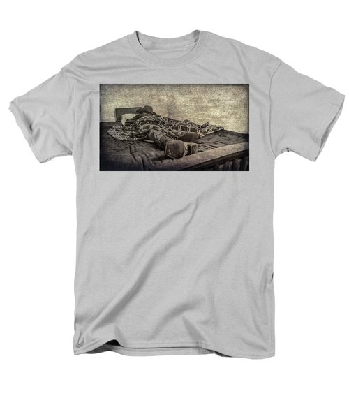 Men's T-Shirt  (Regular Fit) featuring the photograph A Long Day On The Trail by Annette Hugen