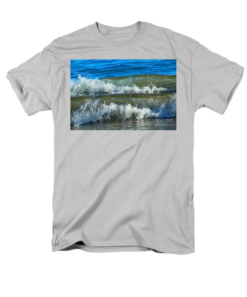 A Race For Non-existence, Point Reyes National Seashore, Marin C Men's T-Shirt  (Regular Fit) by Wernher Krutein