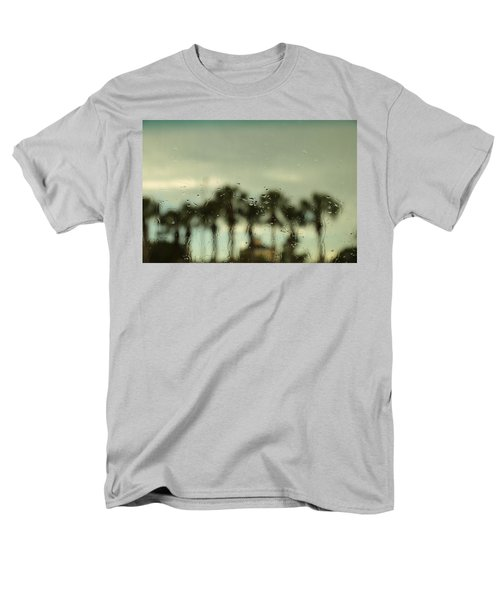 A Rainy Day Men's T-Shirt  (Regular Fit) by Christopher L Thomley