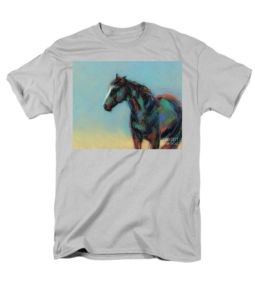Men's T-Shirt  (Regular Fit) featuring the pastel A Soft Breeze by Frances Marino