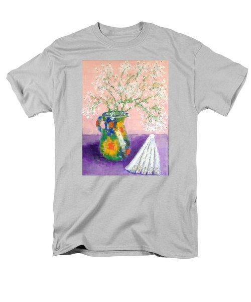 A Spanish Jar And A Fan Men's T-Shirt  (Regular Fit) by Tamara Savchenko