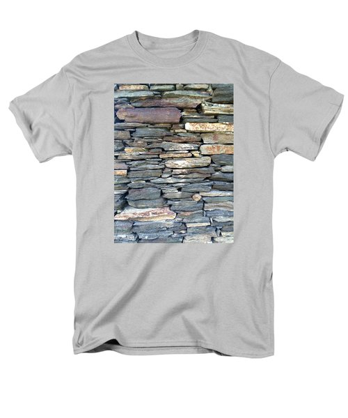 Men's T-Shirt  (Regular Fit) featuring the painting A Stone's Throw by Angela Annas
