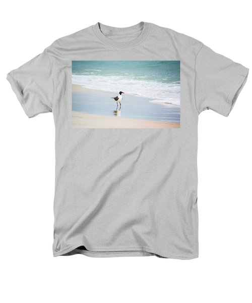 A Walk On The Beach Men's T-Shirt  (Regular Fit) by Shelby  Young