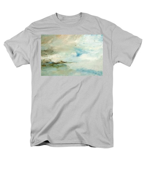 Men's T-Shirt  (Regular Fit) featuring the painting Above It All by Dina Dargo