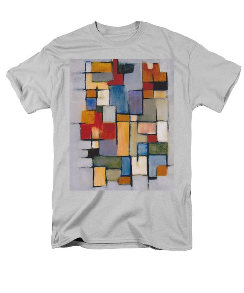 Abstract Line Series  Men's T-Shirt  (Regular Fit) by Patricia Cleasby
