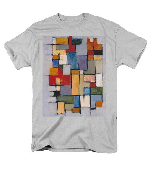 Abstract Line Series  Men's T-Shirt  (Regular Fit)
