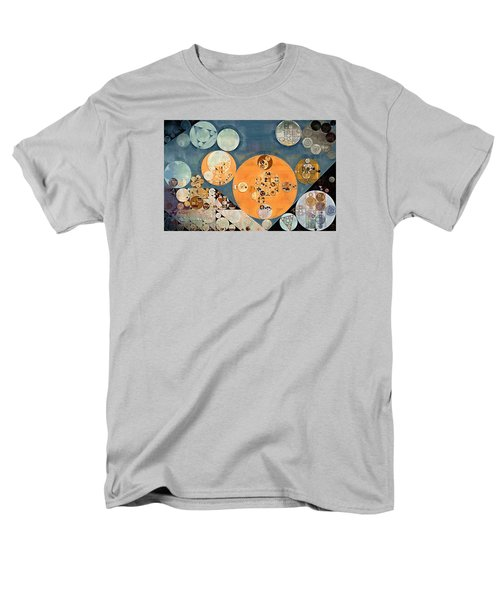 Abstract Painting - Shuttle Grey Men's T-Shirt  (Regular Fit) by Vitaliy Gladkiy
