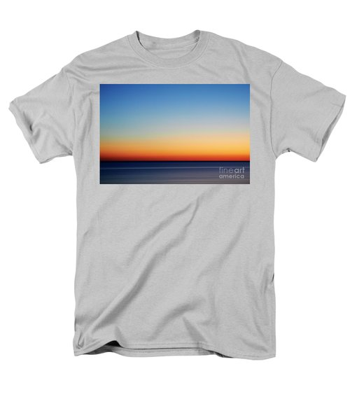 Abstract Sky Men's T-Shirt  (Regular Fit) by Tony Cordoza