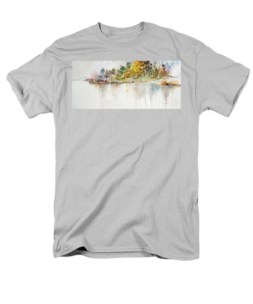 Across The Pond Men's T-Shirt  (Regular Fit) by P Anthony Visco
