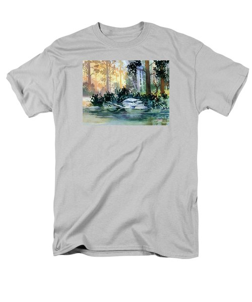 Men's T-Shirt  (Regular Fit) featuring the painting Admiralty Island by Teresa Ascone