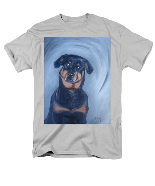 Men's T-Shirt  (Regular Fit) featuring the painting Adrian by Donna Tuten