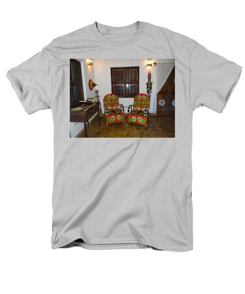 African Interior Design 5 Beaded Chairs Men's T-Shirt  (Regular Fit) by Exploramum Exploramum