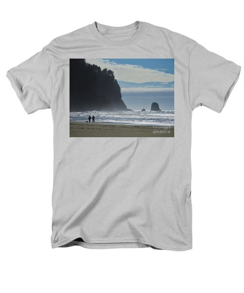 Cape Meares Men's T-Shirt  (Regular Fit) by Michele Penner