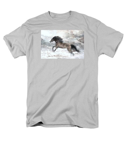 Against The Wind Men's T-Shirt  (Regular Fit) by Dorota Kudyba